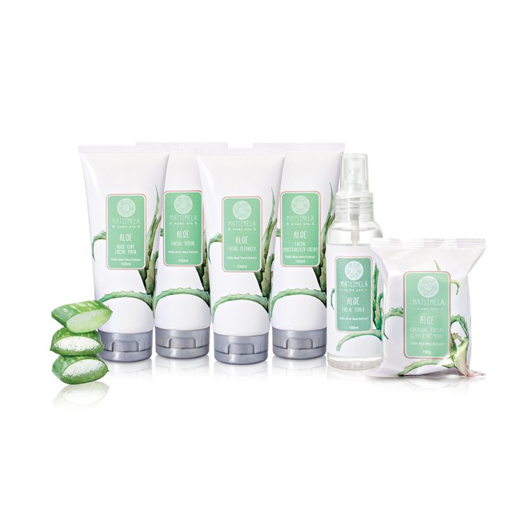 Aloe Range Pack | Matsimela Home Spa