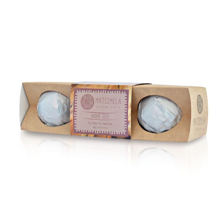 Baobab Fizz Ball Set | Matsimela Home Spa 17