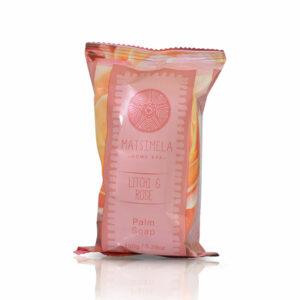 Litchi & Rose Palm Soap   Matsimela Home Spa 15