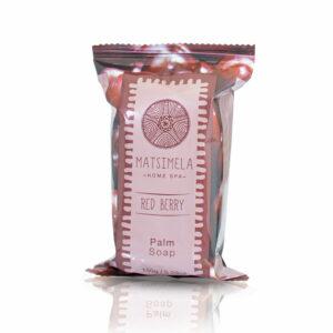 Red Berry Palm Soap | Matsimela Home Spa