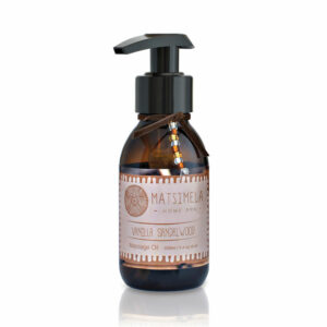 Vanilla & Sandalwood Massage Oil | Matsimela Home Spa 11