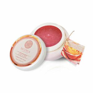 Litchi & Rose Salt Scrub   Matsimela Home Spa 4