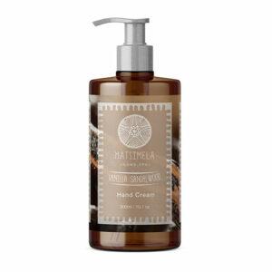 Vanilla Sandalwood Hand Cream | Matsimela Home Spa