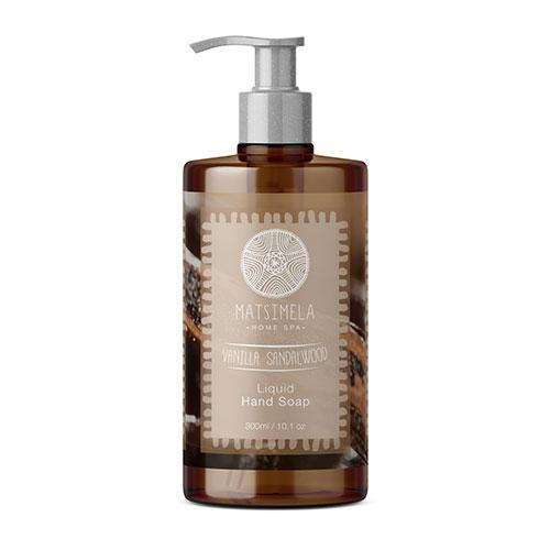 Vanilla Sandalwood Liquid Hand Soap | Matsimela Home Spa