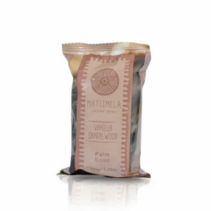 Vanilla & Sandalwood Palm Soap | Matsimela Home Spa 2
