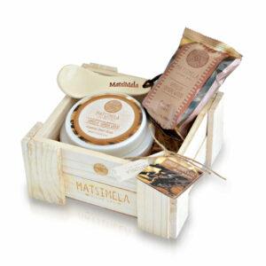 Vanilla & Sandalwood Products In A Crate   Matsimela Home Spa 3