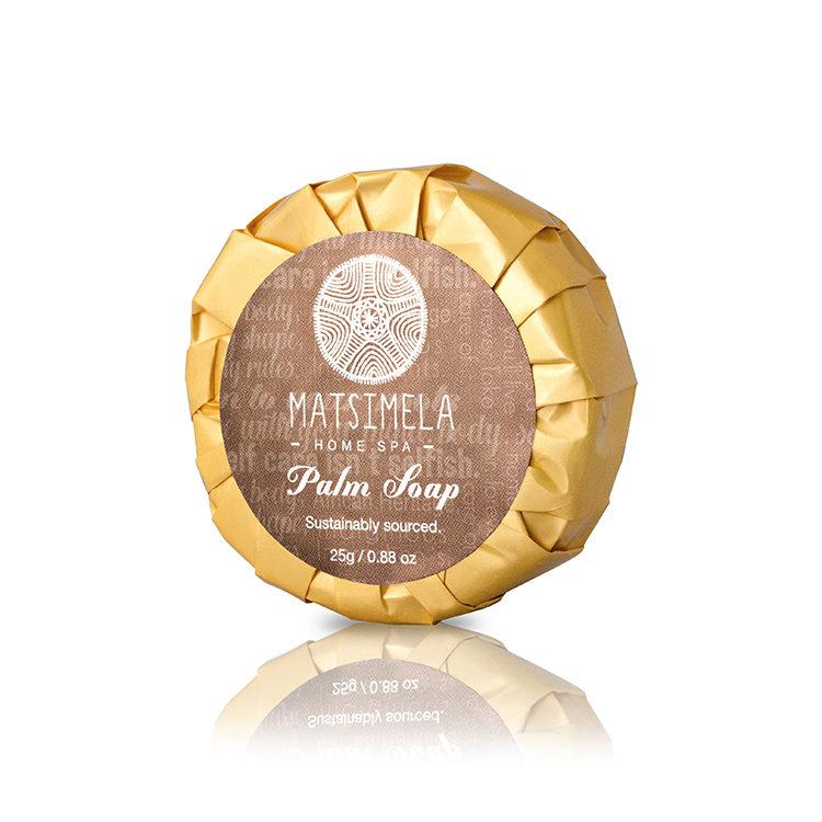 Palm soap - Matsimela Home Spa