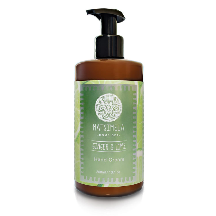 Ginger hand cream - Matsimela Home Spa