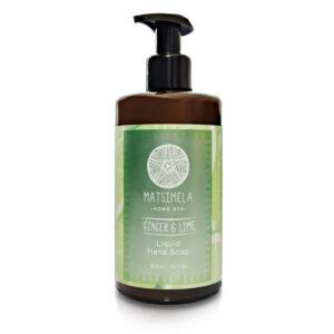 Ginger hand soap - Matsimela Home Spa
