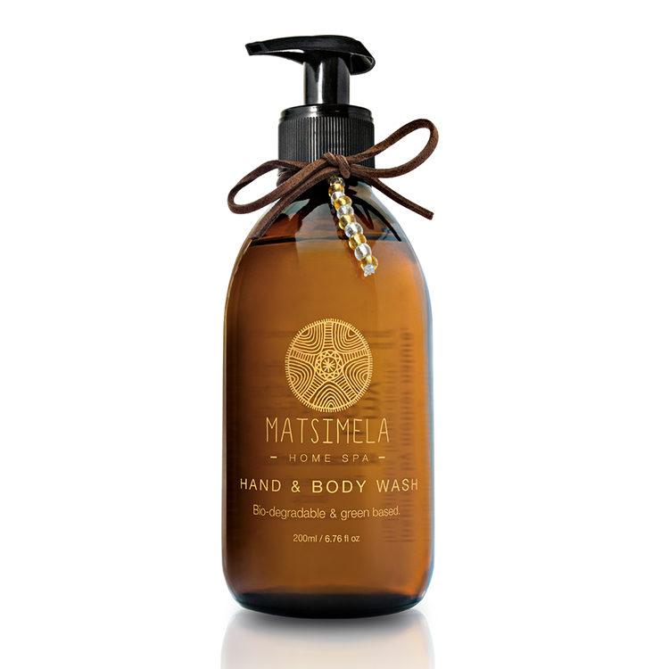 Hand and body wash - Matsimela Home Spa