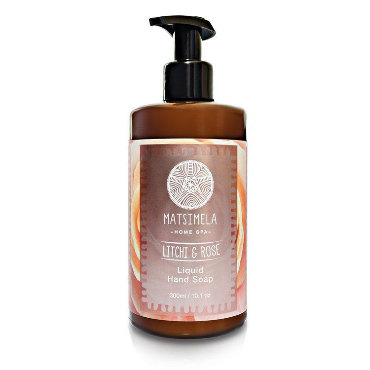 Litchi hand soap - Matsimela Home Spa