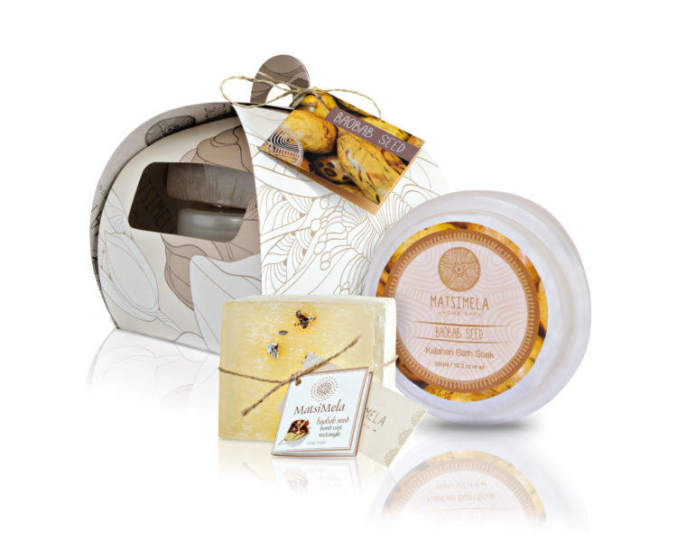 Baobab seed products - Matsimela Home Spa