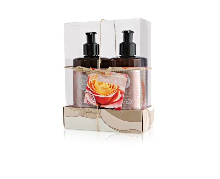Litchi and rose gift set - Matsimela Home Spa