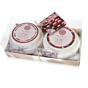 Red berry gift set - Matsimela Home Spa