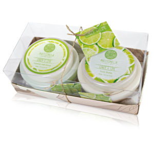 Ginger and lime gift set - Matsimela Home Spa
