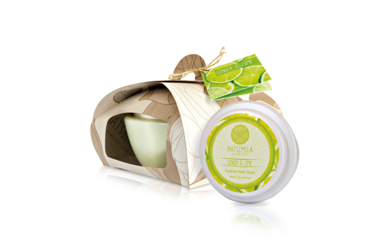 Ginger and Lime products - Matsimela Home Spa