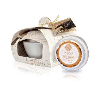 Vanilla sandalwood skin products - Matsimela Home Spa
