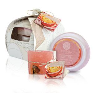 Litchi rose skin products - Matsimela Home Spa