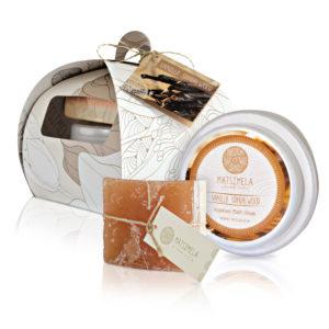 Vanilla sandalwood products - Matsimela Home Spa